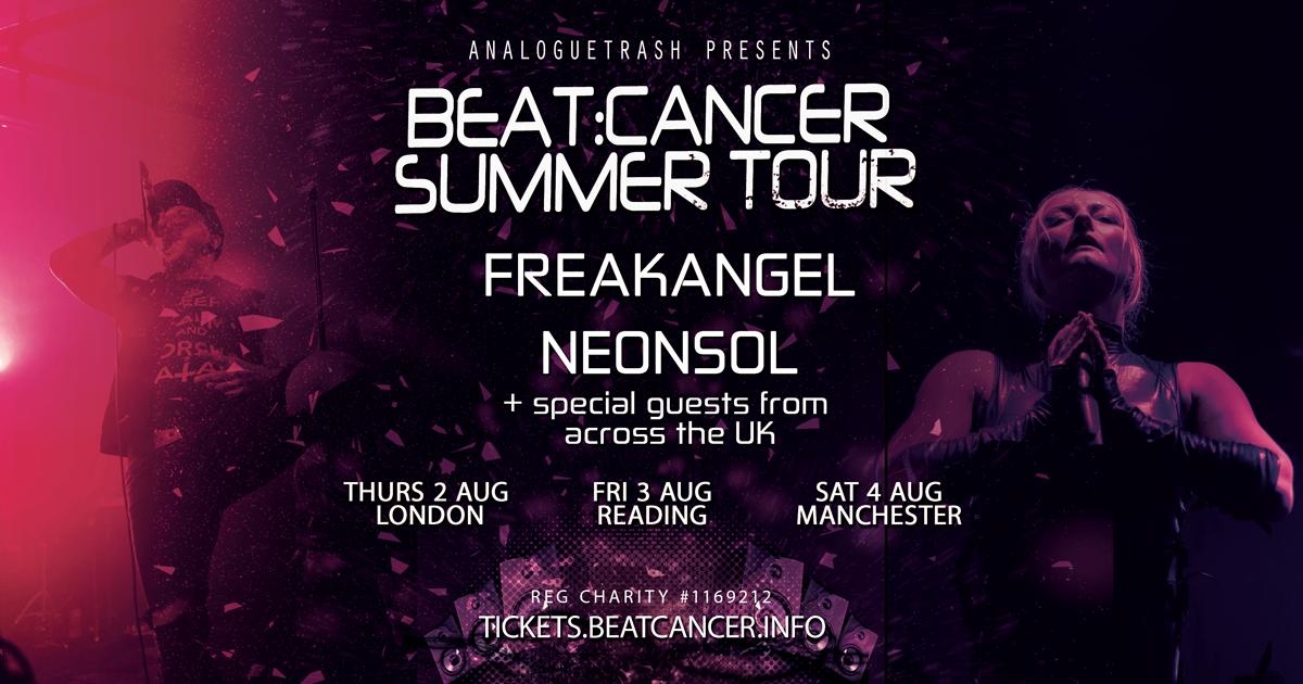 Beat:Cancer Summer Tour 2018